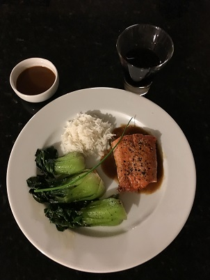 preparing-salmon-with-sake-soy-sauce