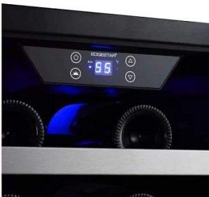EdgeStar-CWB2886FD-30-inch-wine-and-beverage-cooler-control-panel