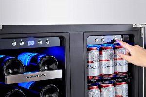 Phiestina-24-inch-wine-and-beverage-refrigerator-dual-zone-temperature-control