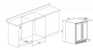 Phiestina-24-inch-wine-and-beverage-refrigerator-suggested-built-in-dimension