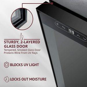 Schmecke-34-bottle-wine-fridge-dual-pane-glass-door-blocks-UV-light