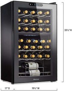 wine-enthusiast-32-bottle-dual-zone-max-compressor-dimension